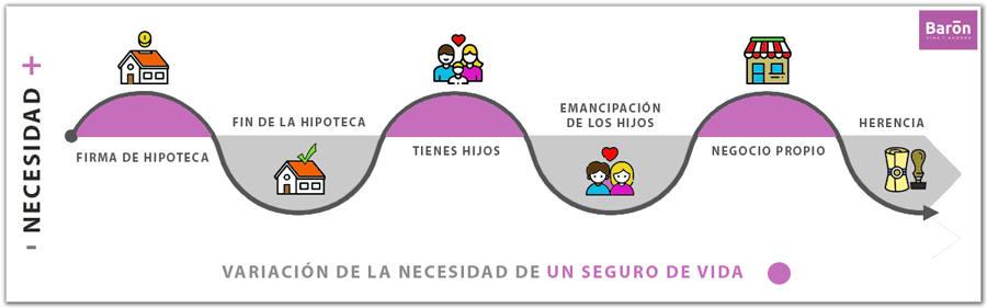 Seguro de Vida, Variación y necesidad